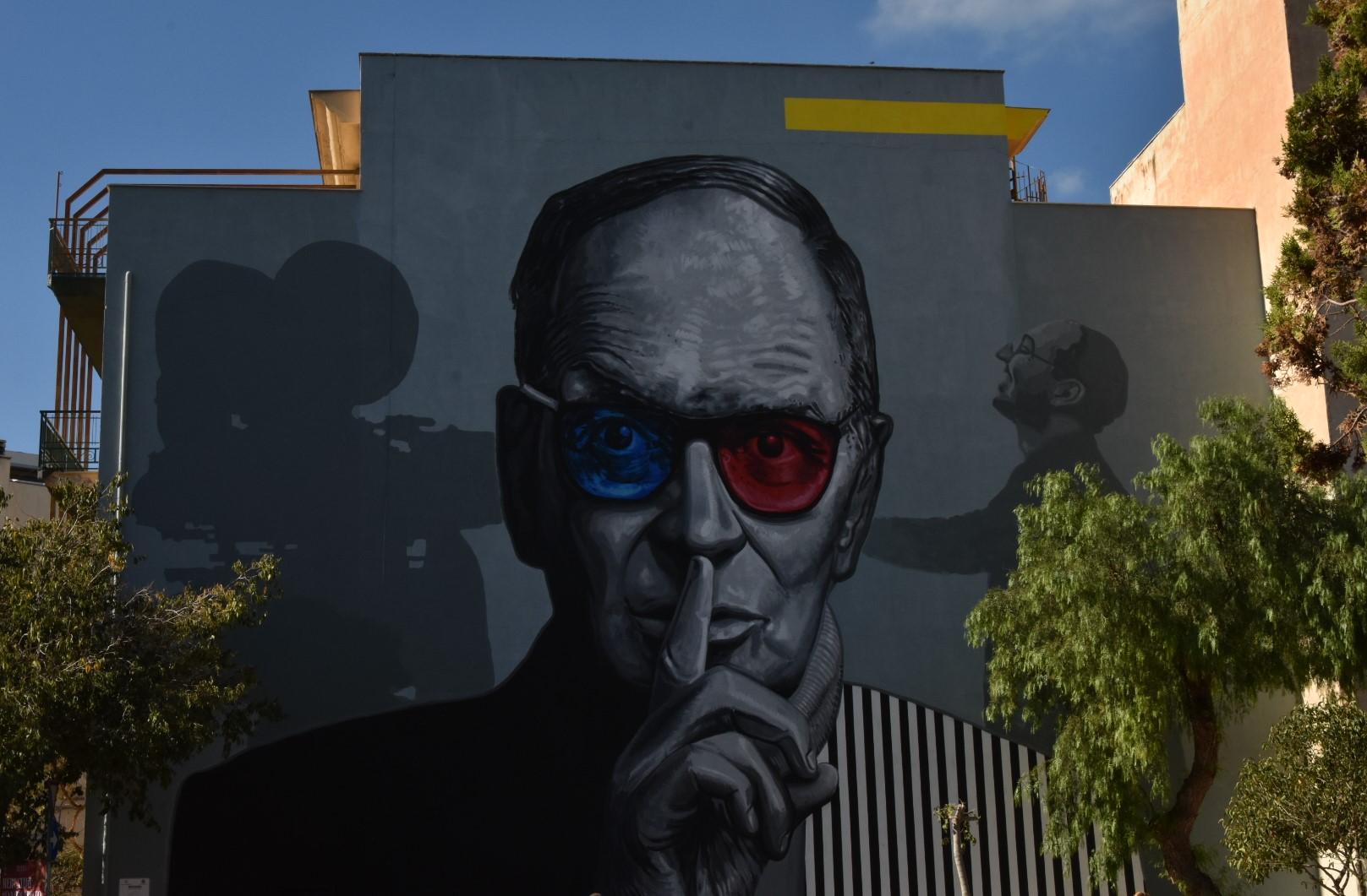 BAGHERIA entra nella Street Art Cities: città delle Ville e dei MURALES